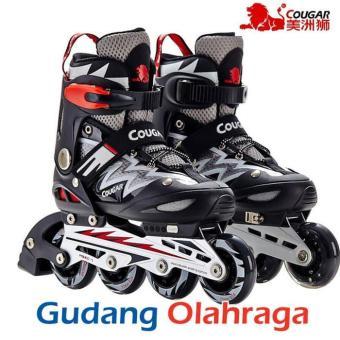 Price Checker Sepatu Roda COUGAR Inline Skate MZS835L pencari harga - Hanya  Rp636.120 7867f45e46