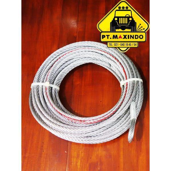 T-Max Wire Rope / Tali Sling Baja Ukuran 7-2 Mm X 40