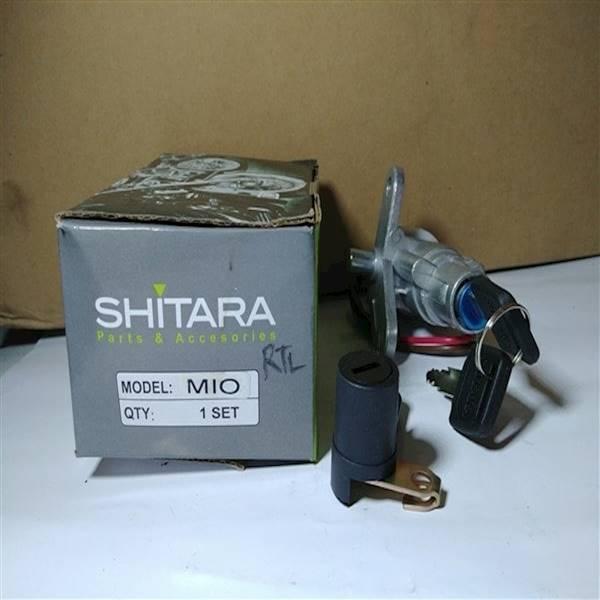 Kunci Kontak Mio Set Jok KW Merk Shitara