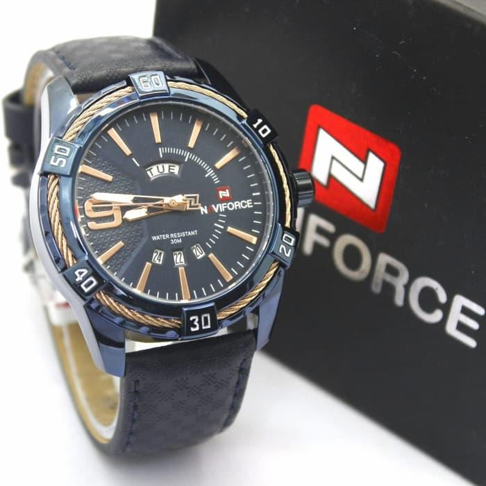 HOT PROMO  Jam Tangan Pria Naviforce 9117 Original ( Seiko Reddington Casio Gc )  /SALE