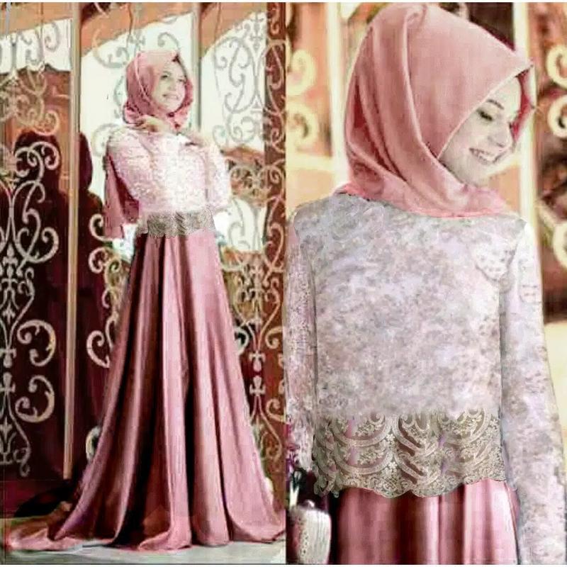 Jakarta Mall  - Setelan  Atas dan Bawahan Dress / Setelan Blouse / Long Dress Wanita / Gaun Panjang/Gaun Wanita / Tunik Wanita / Atasan Muslim / Gamis ; Murah; Motif dan Warna Real Photo #Ukuran M, L dan XL