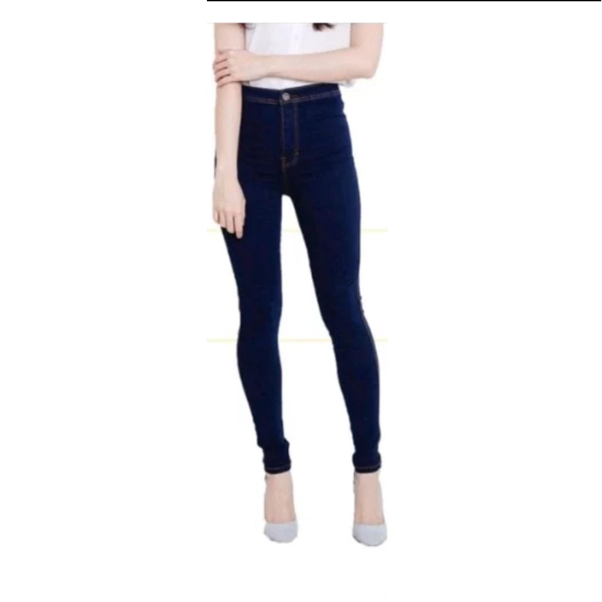 celana jeans highwaist wanita   highwaist termurah   polos 3052ba4bf5
