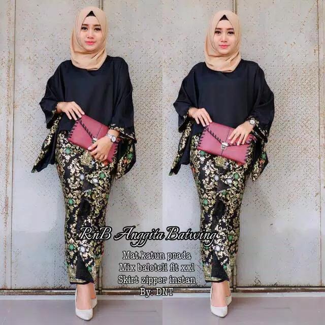 Pakaian Wanita / Fashion Wanita / Kebaya / Baju Batik Terlaris / BatikKondangan Truntum Set