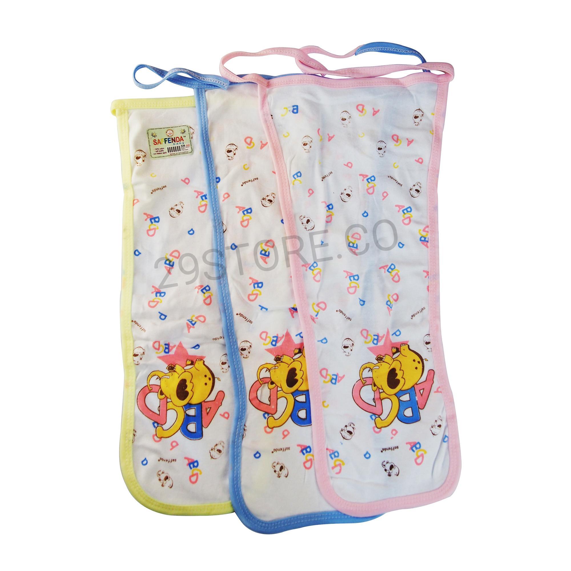 Popok Bayi Aksesoris Terlengkap Underpad Baby Perlak 12 Pcs Kain Tali Newborn Motif Murah