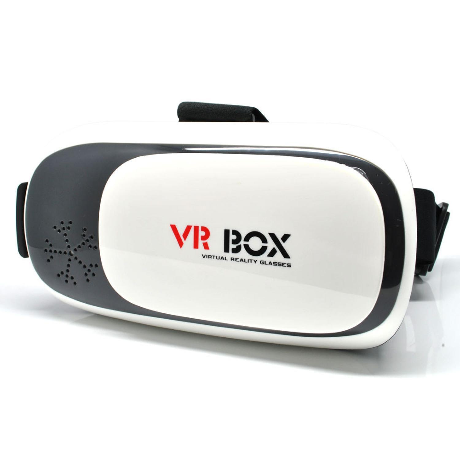 Best- Seller / Vr Box Second Generation Virtual Reality Cardboard For Smartphone/warnaputih By Ailin Shop.