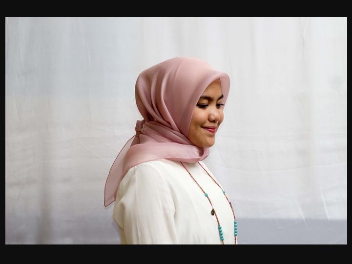 Hijab Cantik Organza Satin Murah Sale (Kerudung Jilbab)