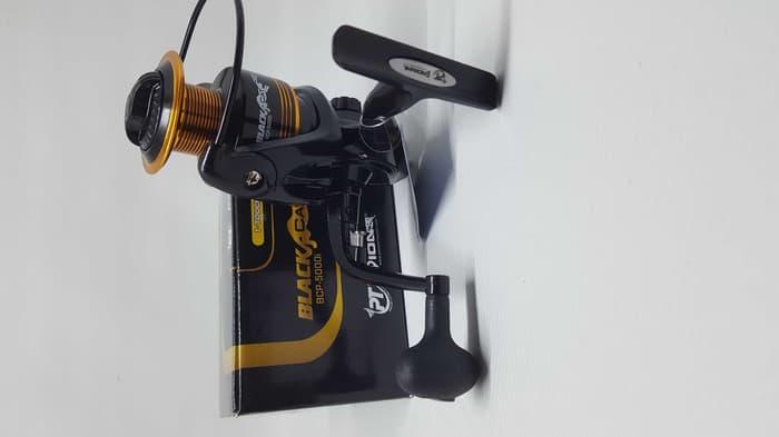 REEL PIONEER BLACK CAT PRO 6 BEARING ALUMINIUM SPOOL BCP-6000i (stok Terbatas )