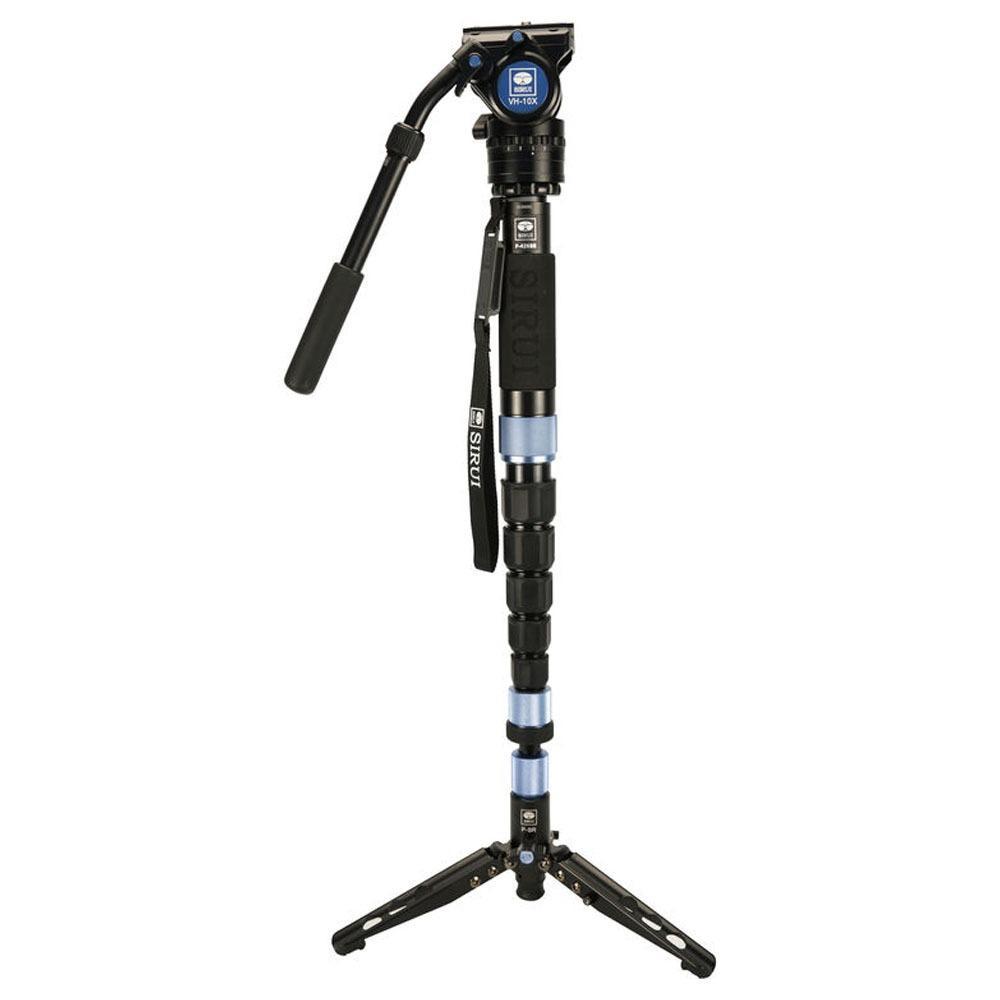 Beli Monopod Video Store Marwanto606 Metal Lid Pov Extendable Pole 49 Cm For Gopro Xiaomi Yi Blue Sirui P 224sr Photo With Va5 Head