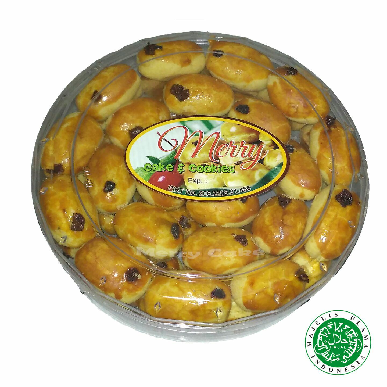 Kue Kering Nastar Wisman Kismis 500 gram - Merry Cake