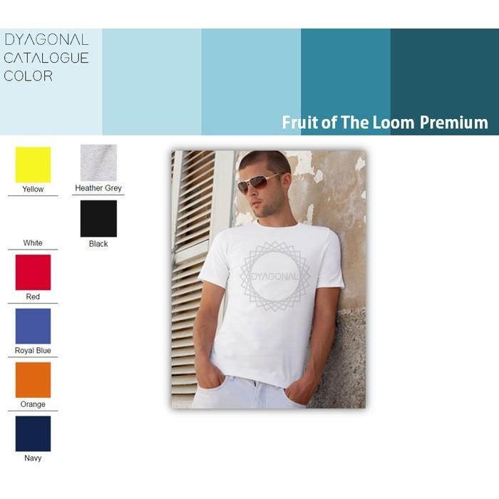 KAOS POLOS FRUIT OF THE LOOM PREMIUM MURAH - Et2cbf