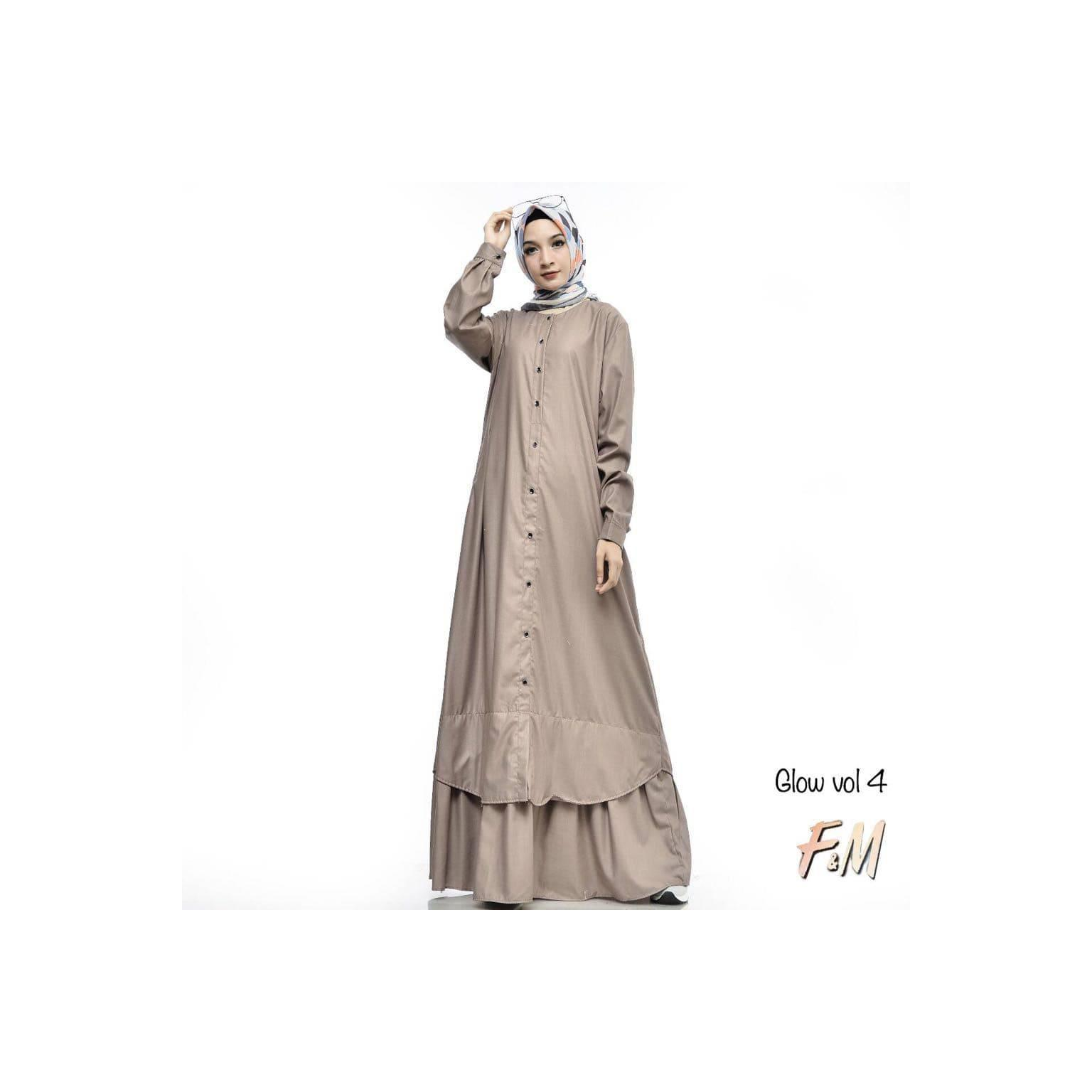 GLOW dress by FM ori gamis abaya remaja