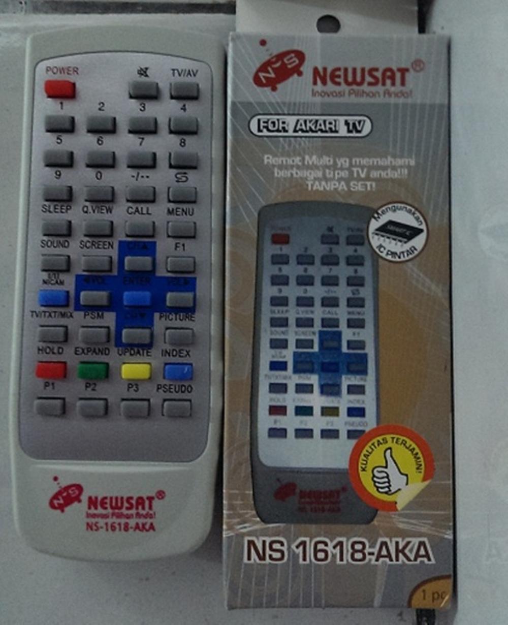 Remote TV Khusus Akari Tanpa SET Langsung Pakai