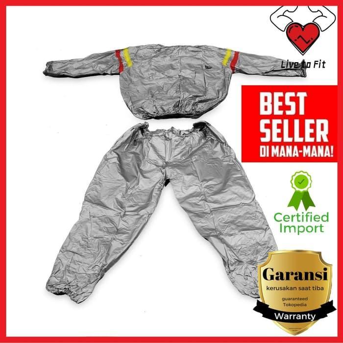 Jaket Sauna Suit / Baju sauna / Baju sauna murah / Sauna Suit Unistar Terlaris di Lazada