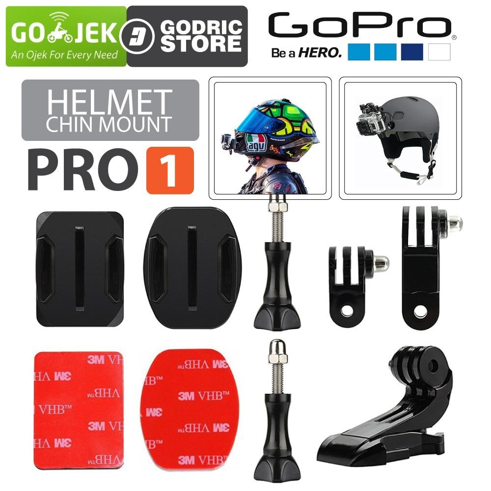 Jual Mount Camera Terlengkap Termurah Kernel L Bracket Flash Light Adjustable Holder For Dslr Helmet Chin Set Pro1 Helm Bike Motovlog Action Gopro Xiaomi Yi