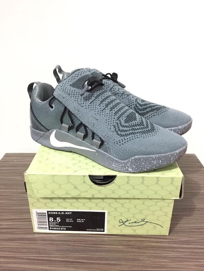 Nike kobe ad nxt grey premium  sepatu basket kobe pria murah terbaru