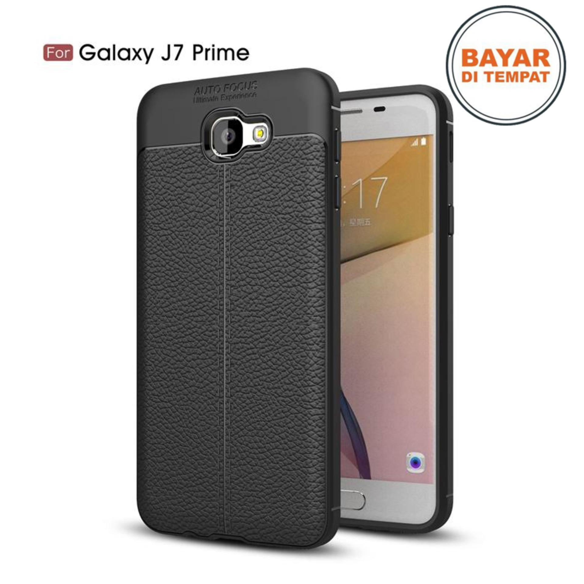 JAK - Softcase Leather / Case Auto Focus / Case Ultimate for Samsung Galaxy J7 Prime / On7 2016 ( 5.5