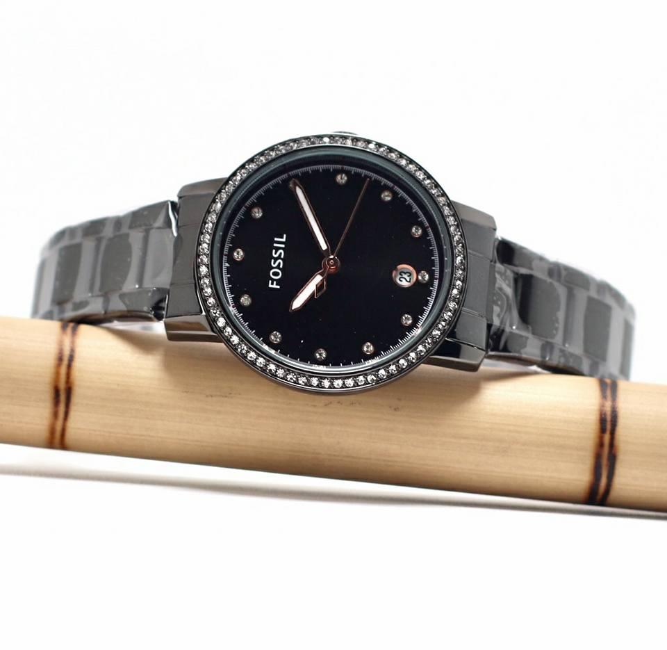jam tangan swiss army/jam tangan Fosil-jam tangan wanita-tanggal aktif lengkap dengan box
