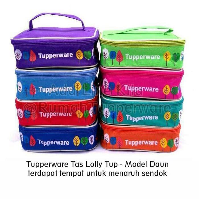 Harga Spesial!! Tuperwer Tas Lolly Tup Replika Tas Bekal Makan Lolly Tup - ready stock