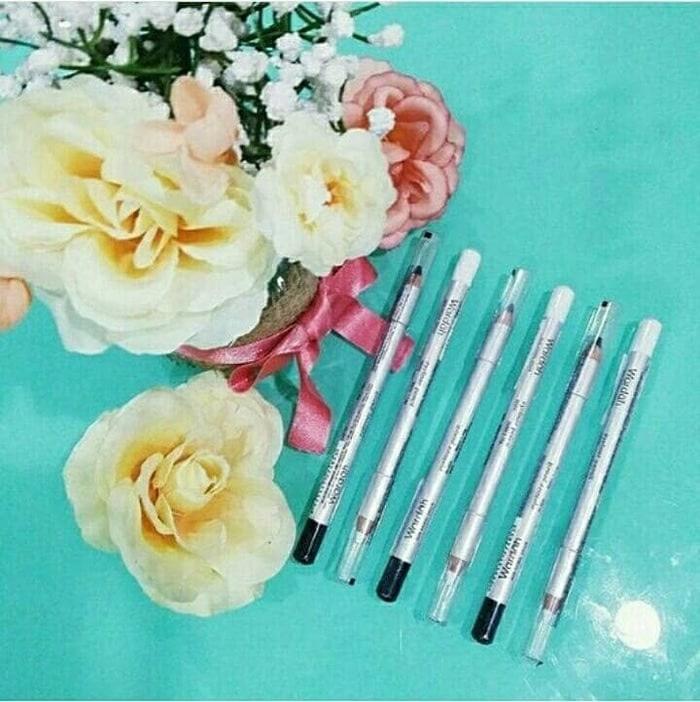 SPECIAL PROMO - (Wardah Eyeliner Pencil Black White Eye Liner Pensil Hitam Putih BARU) - PERAWATAN WAJAH - PERAWATAN MATA - EYELINER - EYELINER BENTUK PENSIL - PERIAS GARIS BULU MATA - - WARNA - HITAM - PUTIH - 1 PCS - BEST SELLER