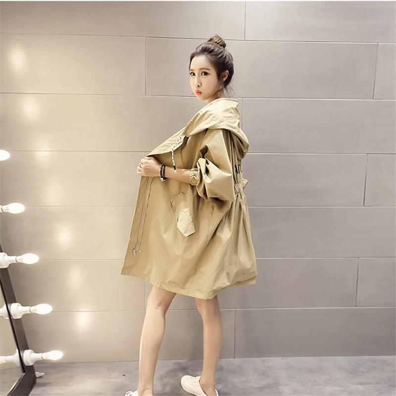Jaket Angin Wanita Model Setengah Panjang Gaya Korea Musim Semi 2019 Model Baru Murid Ukuran Besar Longgar Bf Netral Pasang Putih Hoodie Jaket By Koleksi Taobao.