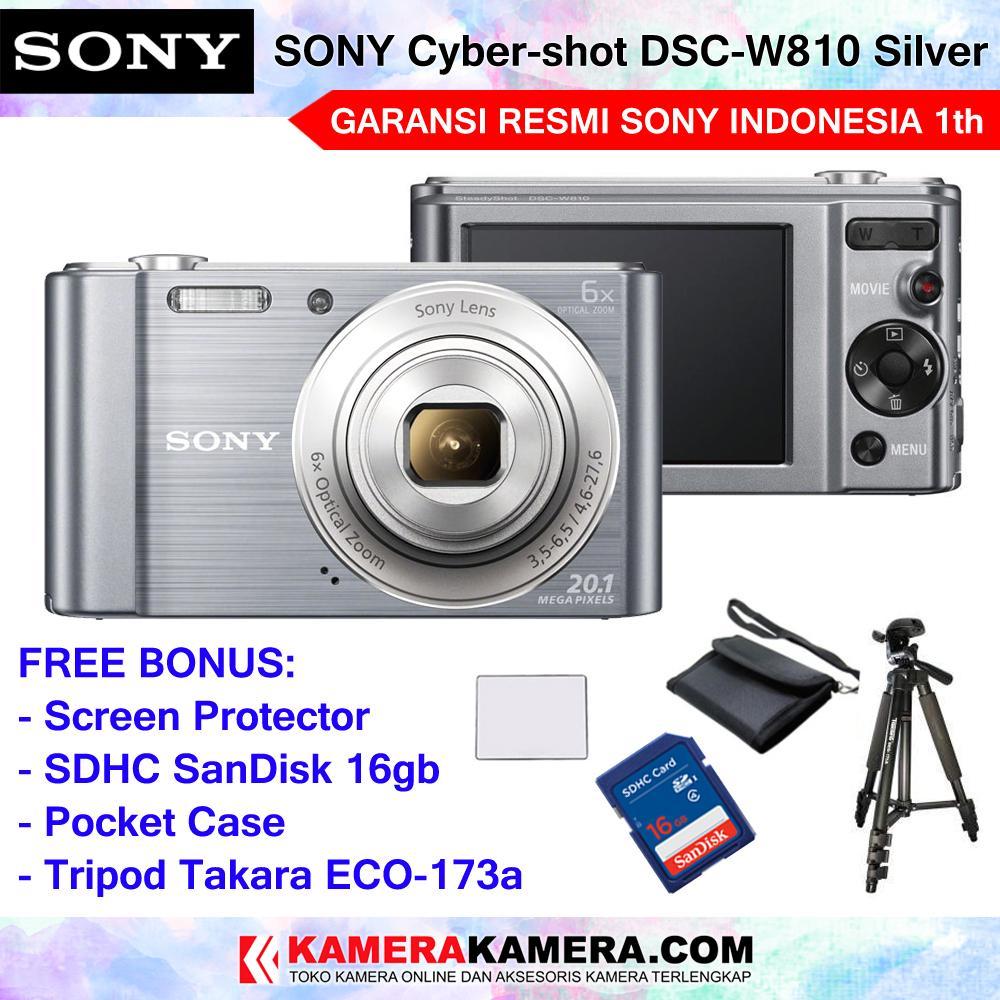 Kamera Sony Terbaru Resmi Alpha A5100 Kit 16 50mm Hitam Cyber Shot Dsc W810 Pocket Camera 20mp 6x Optical Zoom Hd Movie