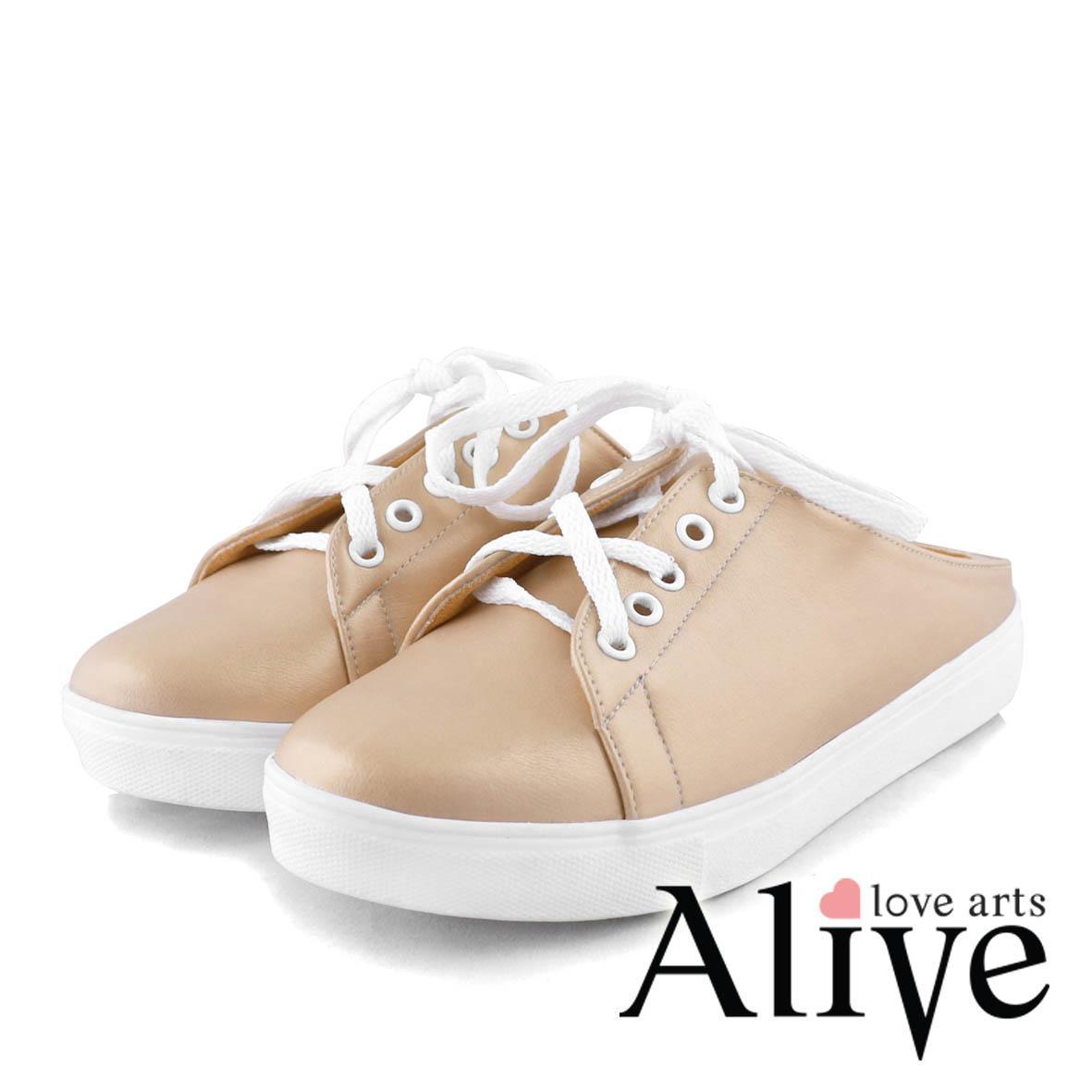 AliveLoveArts Beatrice Gold Sepatu Slip On Wanita