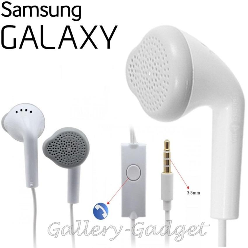 ab89e07ce58 Samsung Handsfree / Headphones / Earphone / Haedset Galaxy Young Gallery  Gadget - Putih