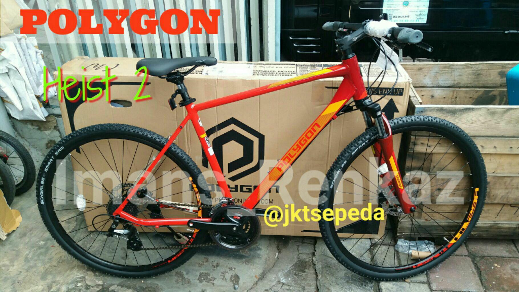 Sepeda Hybrid Polygon Heist 2.0