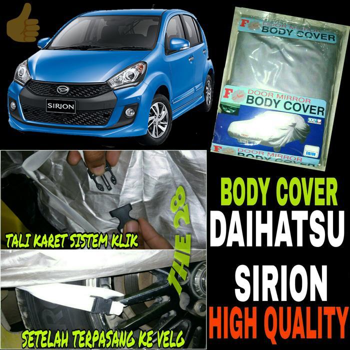 PROMO!!! Sarung Penutup SIRION Body Cover Selimut Bodi Mobil DAIHATSU Sirion - QrKYbt