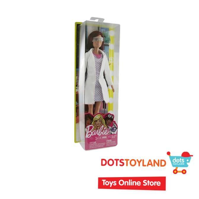 Barbie Career Doll Scientiest - Mainan Anak