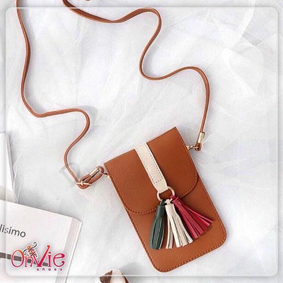 BELI Longgar Rumbai Warna Solid Wanita Baju Dalaman Korea Fashion Source · Onvie POCKET BAG Tas Kecil Wanita Pita Rumbay Tas Anak Cewek Cewe Perempuan