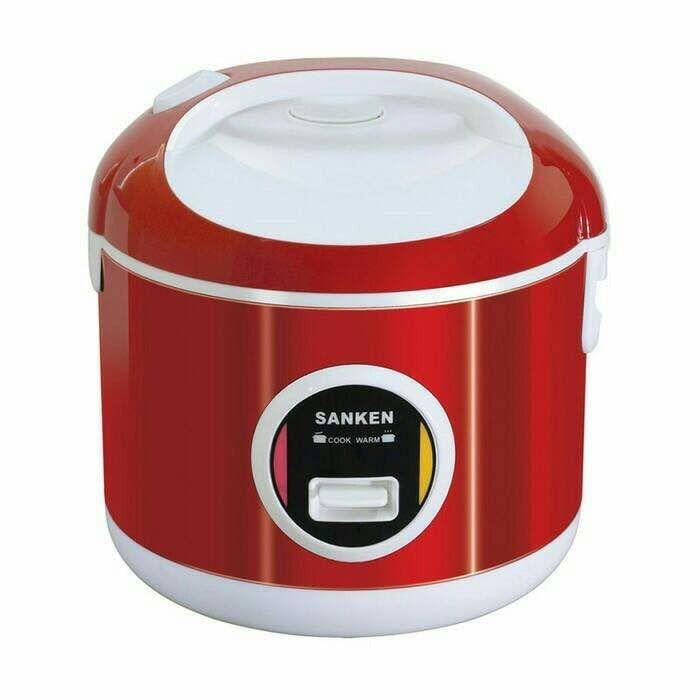 Sanken Rice Cooker 1 Liter Sj-200 Stainless Steel 6 In 1 - Powjxt