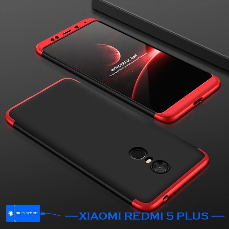 Case 360 Hardcase Case Xiaomi Redmi 5 Plus Full Protection Shockproof Untuk Casing Hp Xiaomi Redmi