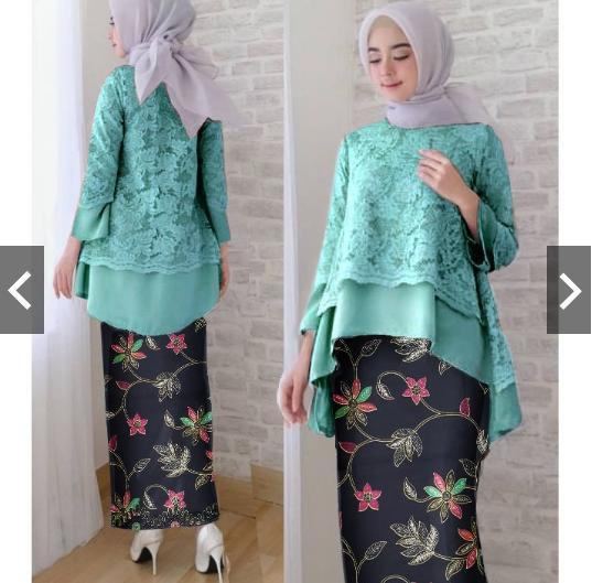 b5bbd890a2fbaeec52c5f2f0499e5f6d Kumpulan Harga Dress Muslim Full Brokat Terbaik 2018