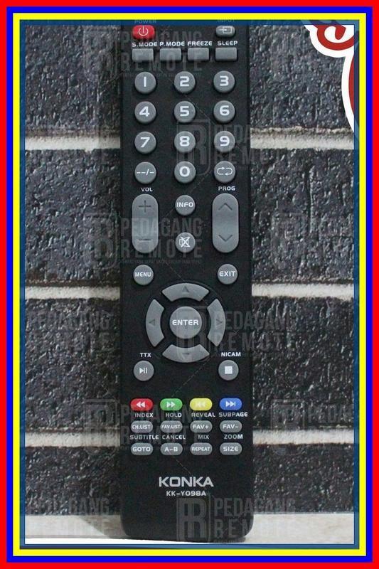 Remot Remote Tv Konka Lcd Led Kky098A Ori Original Asli