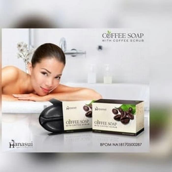 COFFEE SOAP HANASUI BPOM - SABUN KOPI HANASUI - COFFE SOAP - ORIGINAL