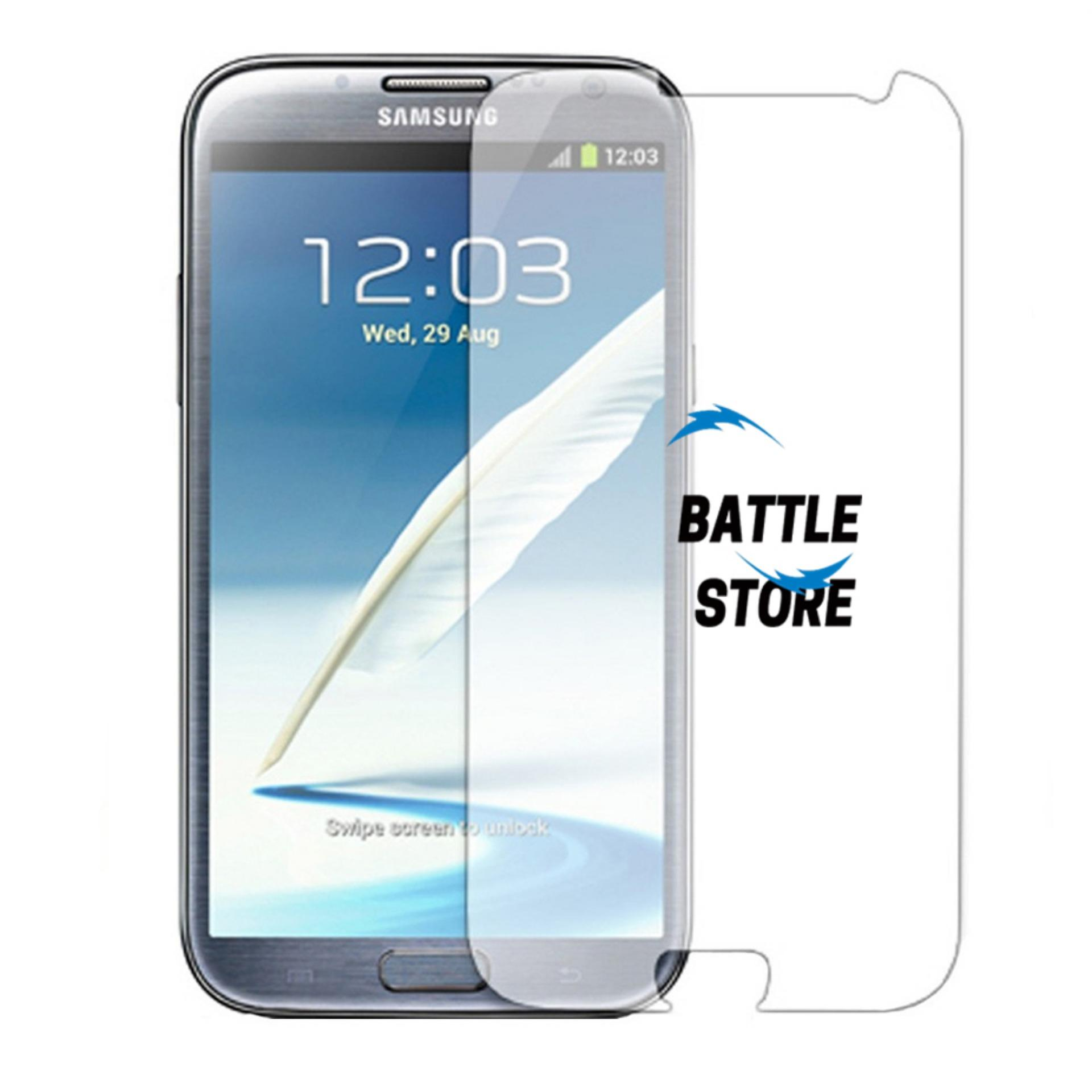 Samsung Galaxy Note 1 ( N7000 ) Screen Protector Tempered Glass / Anti Gores Kaca - White Clear