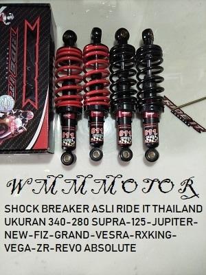HOT PROMO SHOCK BREAKER ASLI RIDE IT THAILAND UKURAN 340-280 SUPRA-125-