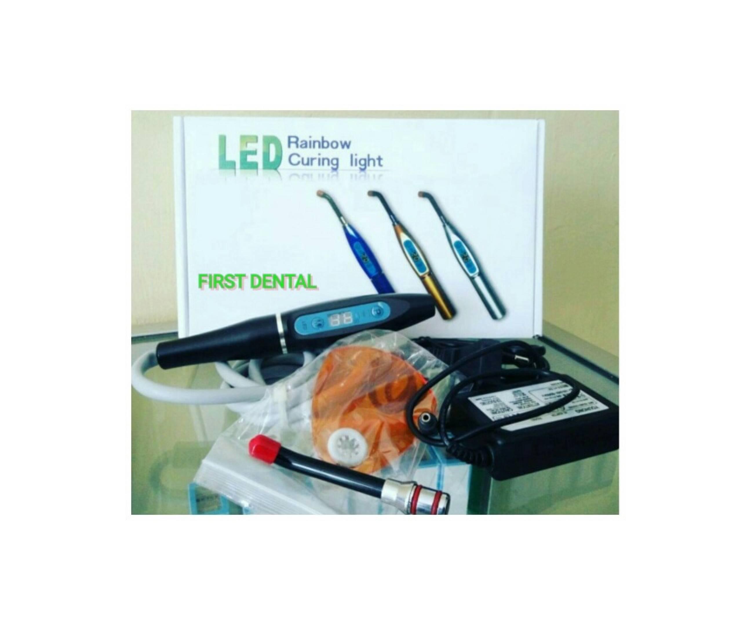 Daftar Harga Biaya Pemutihan Gigi Laser Terbaru Barang Behel Led Rainbow Light Cure Lem Kawat Dental Curing Sambung Unit