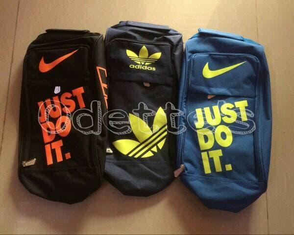 BEST SELLER!!! Tas Sepatu Nike / Tas Sepatu Adidas / Tas Sepatu Slempang - htw0Dw