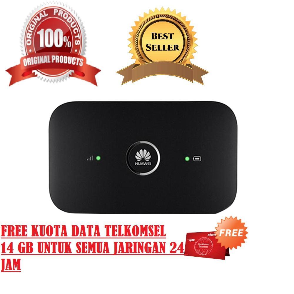 Jual Modem Huawei Terbaik Mifi Router Wifi 4g E5573 Bypass Free Tsel 14gb Kuota Telkomsel Lte 150mbps Bisa Semua Operator Gsm