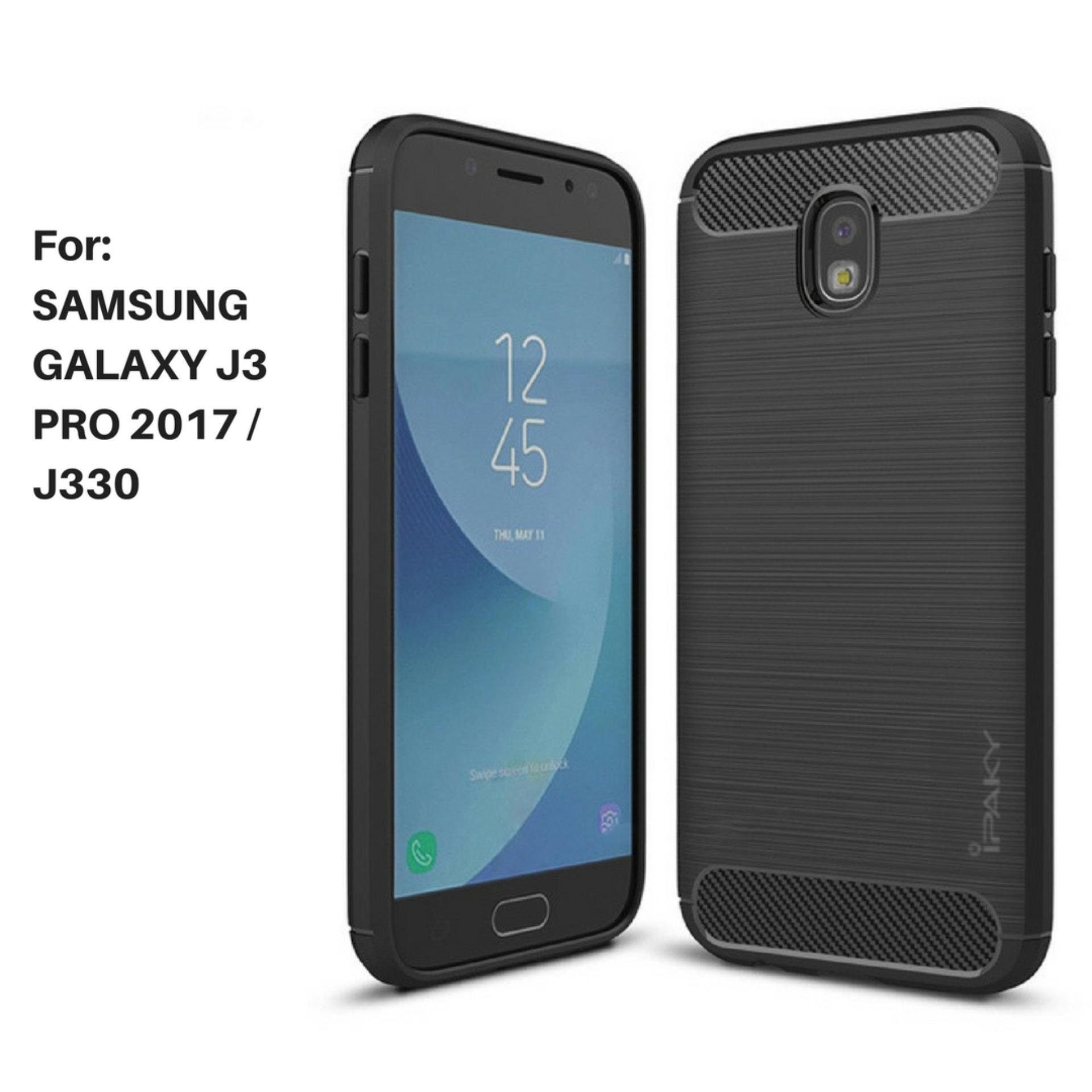 Armor Carbon Case for Samsung Galaxy J3 Pro 2017 / J330 - Black