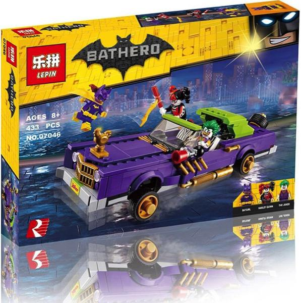 BEST SELLER!!! Bricks 07046 Batman Movie The Joker Notorious Lowrider - BO4sT9