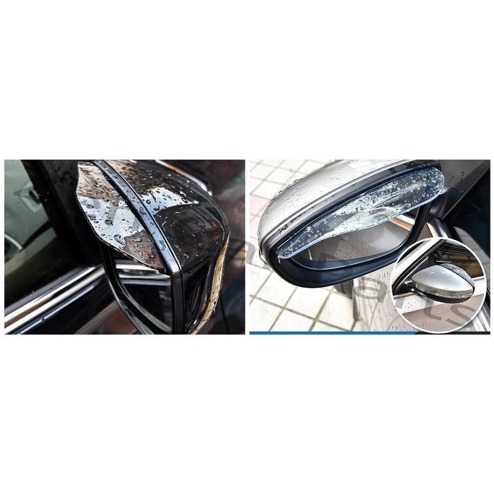 Talang Air Spion Mobil / Mika Pelindung Spion / Karet Wiper Spion