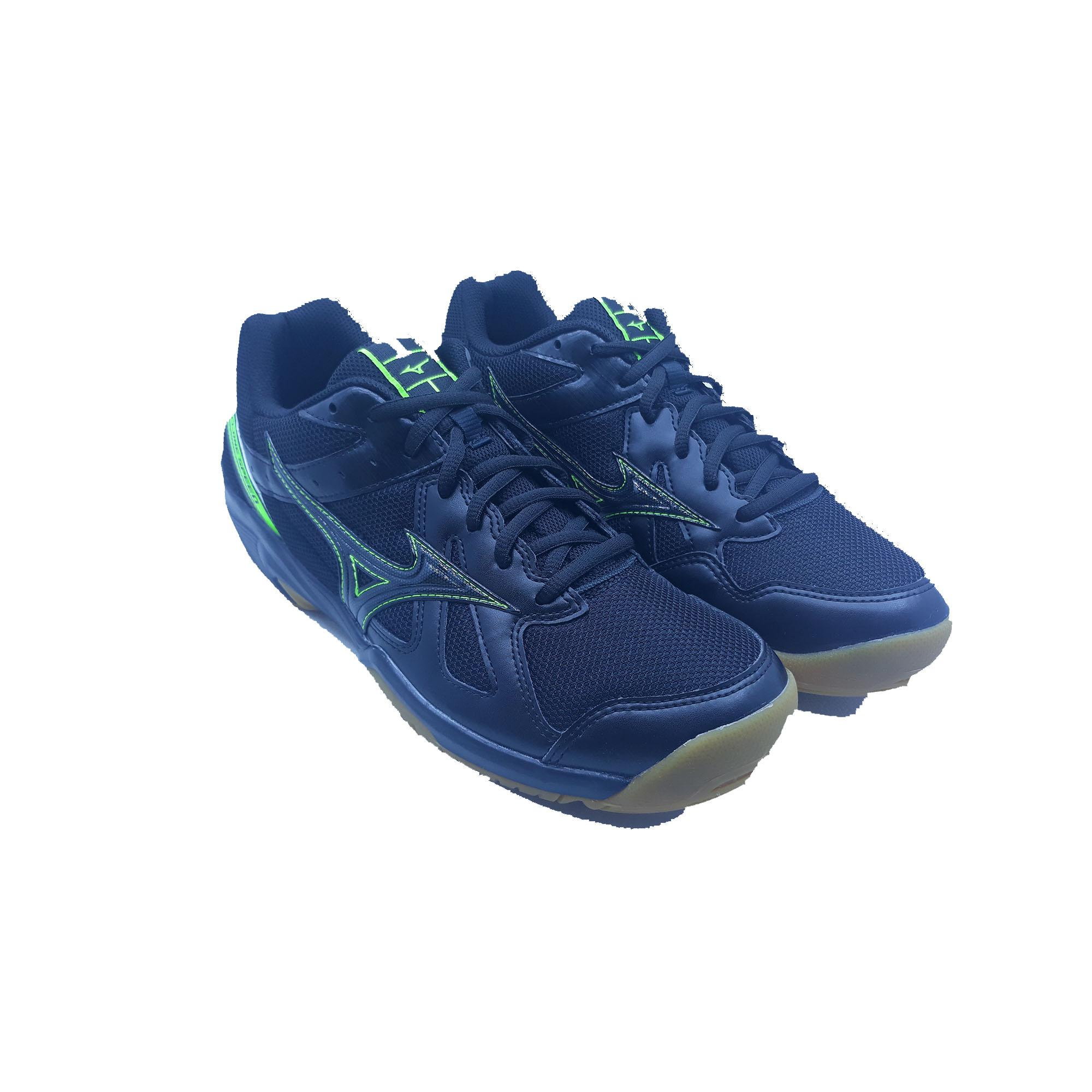 Sepatu Voli Mizuno Cyclone Speed - Black L.green 0d57ab95a6