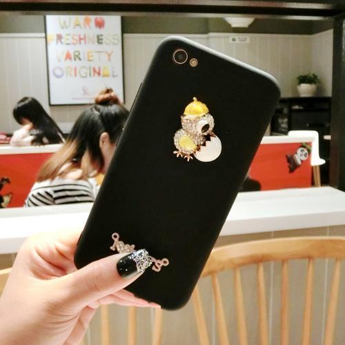 OPPO Selubung Ponsel Versi Kolej dari Sarung Gel Silika Tali Gantungan Jepang atau Korea Selatan Anti Jatuh