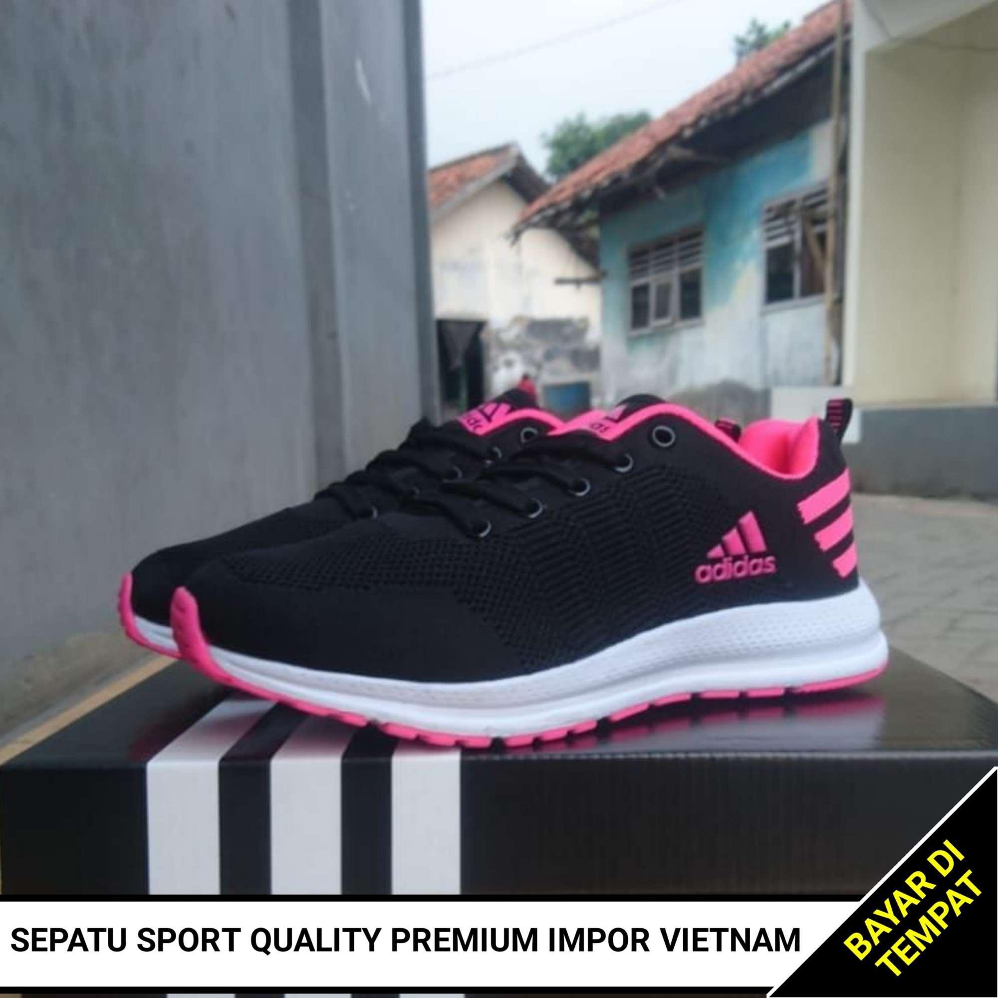 Sepatu Wanita Sport Premium Impor Vietnam