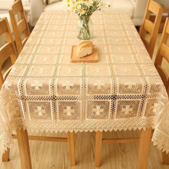 Harga preferensial Putih model Eropa Taplak meja makan Lemari TV taplak taplak meja RESTONIC Meja tamu