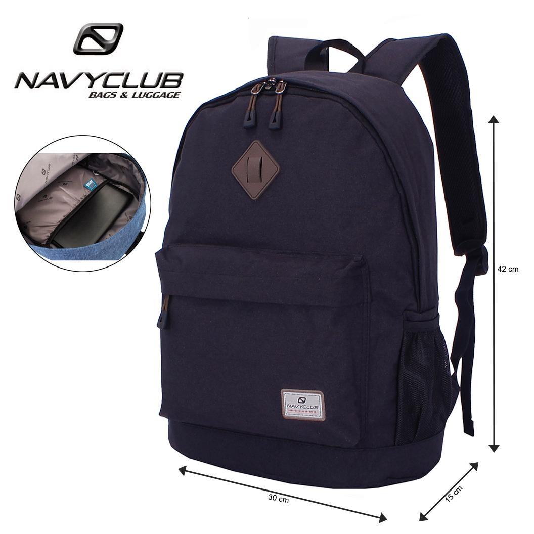 Lazada Exclusive - Navy Club Tas Ransel Laptop Kasual Tas Punggung - Tas  Pria Tas Wanita 9b5ef4a1cc