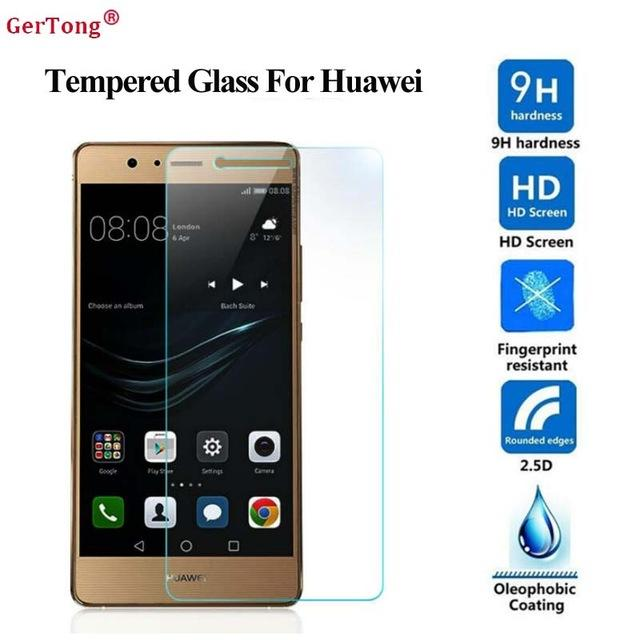 Tempered Glass For Huawei P8 Lite Anti Gores Kaca Screen Protector Qulaity HD